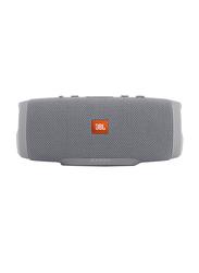 JBL Charge 3 Waterproof Portable Bluetooth Speaker, Grey