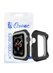 Ozone Apple Watch 44mm Series 4 Shock-Proof Case, Shatter-Resistant Protector Bumper Cover, Grey