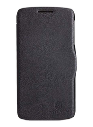 Nillkin Lenovo A706 Stylish Leather Mobile Phone Case Cover, Black