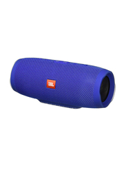 JBL Charge 3 Waterproof Portable Bluetooth Speaker, Blue