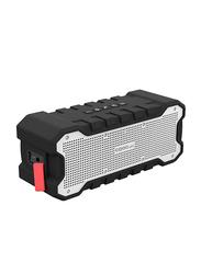 CRDC S203A IP65 Wireless Rechargeable Battery Waterproof Bluetooth Speaker, Black