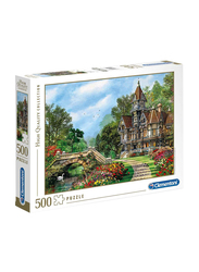 Clementoni 500-Piece Old Waterway Cottage Adult Jigsaw Puzzle