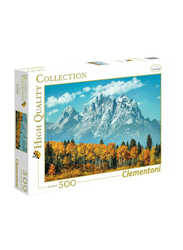 Clementoni 500-Piece Grand Teton in Fall Adult Jigsaw Puzzle