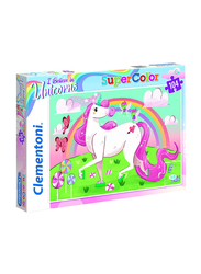 Clementoni 104-Piece Super Color I Believe in Unicorns Jigsaw Puzzle