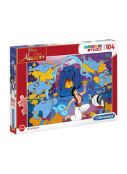 Clementoni 104-Piece Set Disney Aladdin Super Color Puzzle