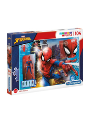 Clementoni 104-Piece Set Disney Spider-Man Super Color Puzzle