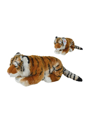 Nicotoy Brown Tiger Cub with Beans 50cm Soft Toy