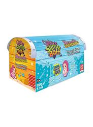 Simba Mermaid Treasure Glitter Slime Baff Chest Box, Aqua Blue
