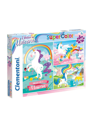 Clementoni 3 x 48-Piece Set Super Color I Believe in Unicorns Jigsaw Puzzle
