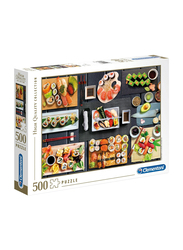 Clementoni 500-Piece The Sushi Adult Jigsaw Puzzle