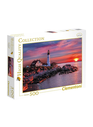 Clementoni 500-Piece Portland Head Light Adult Jigsaw Puzzle