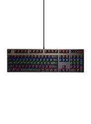 Rapoo V500 VPro RGB Wired English/Arabic Gaming Keyboard, Black