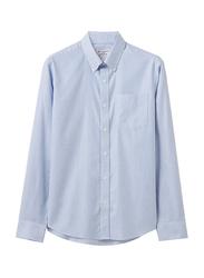Giordano Cotton Wrinkle Free Shirt for Men, Large, Light Blue