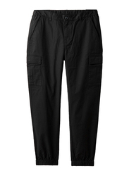 Giordano Joggers for Men, Medium, Black