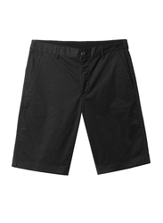 Giordano 3 Functional Pockets Casual Shorts for Men, 32 US, Black