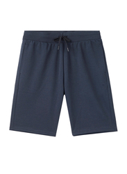 Giordano G-Motion Double Knit Shorts for Men, Small, Dark Blue