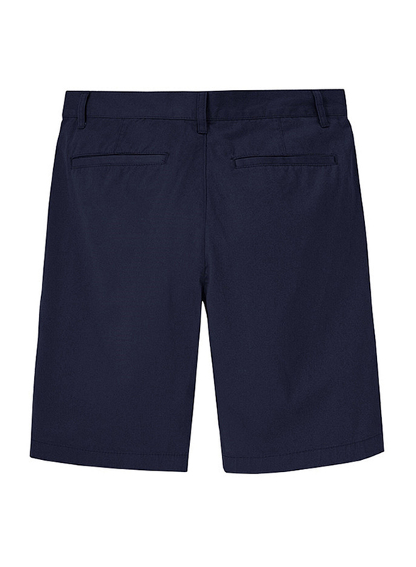 Giordano Solid Cotton Shorts for Men, 29 US, Blue