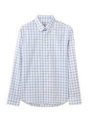 Giordano Cotton Wrinkle Free Shirt for Men, Small, White