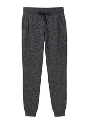Giordano G-Motion Mid Rise Joggers for Women, Large, Black