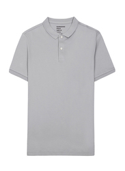 Giordano Luxury Touch Polo Shirt for Men, Double Extra Large, Grey