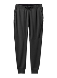 Giordano Double Knit Joggers for Men, Large, Black