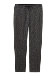 Giordano French Terry Joggers for Men, Medium, Light Black