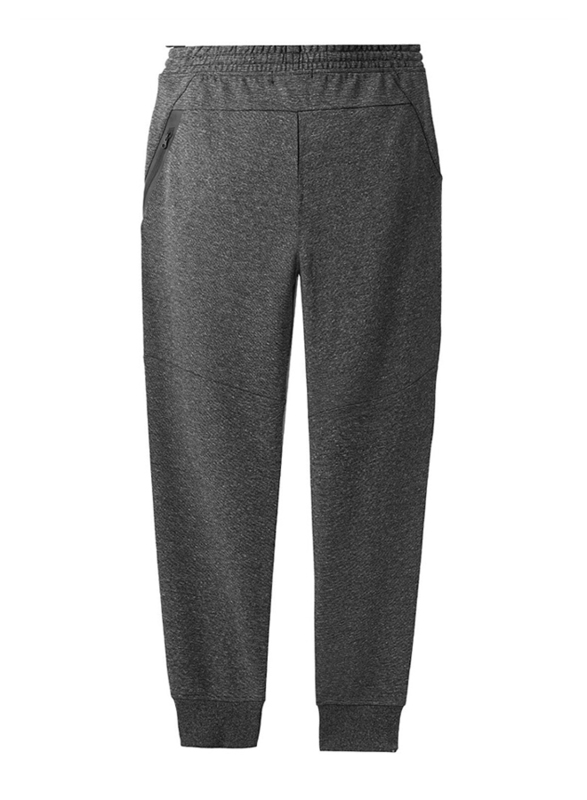 Giordano Double Knit Joggers for Men, Large, Grey