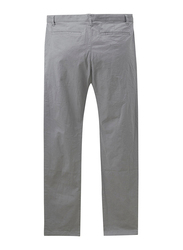 Giordano Stretchy Low Rise Slim Tapered Pants for Men, 31 US, Grey