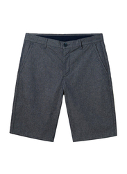 Giordano Stretchy Mid-Low Rise Casual Shorts for Men, 29 US, Dark Grey