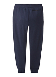 Giordano Draw String Joggers for Men, Large, Navy Blue