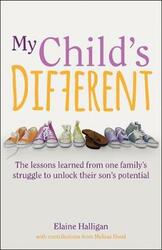 My Child's Different: The lessons learned from one family's struggle to unlock their son's potential, Paperback Book, By: Elaine Halligan