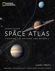 Space Atlas: Mapping the Universe and Beyond, Hardcover Book, By: James Trefil