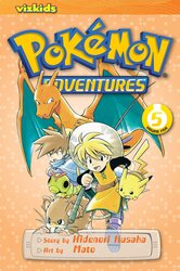 Pokemon Adventures (Red and Blue), Vol. 5, Paperback Book, By: Hidenori Kusaka