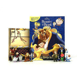 Beauty and the Beast: My Busy Book, Board Book, By: Phidal Publishing Inc.
