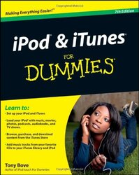 iPod & iTunes For Dummies, Book + DVD Bundle, Paperback Book, By: Tony Bove