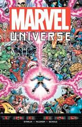 Marvel Universe: The End, Paperback Book, By: Jim Starlin