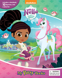 My Busy Book: Nella princess knight, Board Book, By: Phidal Publishing Inc.