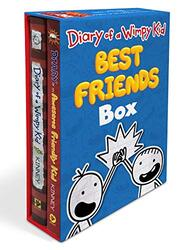 Diary of a Wimpy Kid Best Friends Box: Diary of a Wimpy Kid / Diary of an Awesome Friendly Kid, Hardcover Book, By: Jeff Kinney