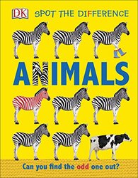 Spot the Difference Animals: Can you find the odd one out?, Board book, By: DK