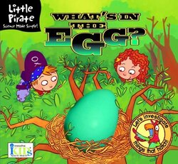 Little Pirate: What's in the Egg? (Little Pirate. Science Made Simple!), Hardcover Book, By: Lawrence Schimel