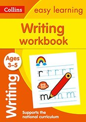 Writing Workbook Ages 3-5: Ideal for Home Learning (Collins Easy Learning Preschool), Paperback Book, By: Collins Easy Learning