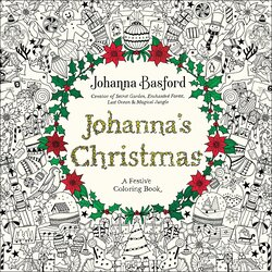 Johanna's Christmas: A Festive Coloring Book for Adults, Paperback Book, By: Johanna Basford
