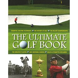 Ultimate Golfing Book, Hardcover Book, By: Parragon