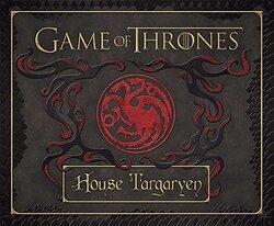 Game of Thrones: House Targaryen Deluxe Stationery Set, Hardcover Book