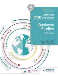 Cambridge IGCSE and O Level Business Studies 5th edition, Paperback Book, By: Borrington Karen