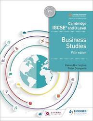 Cambridge IGCSE and O Level Business Studies 5th edition, Paperback Book, By: Borrington Karen