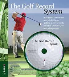 The Golf Record System (Book & CD Rom), Hardcover, By: Neil-Monticelli Harley-Rudd