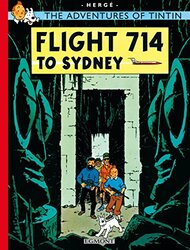 Flight 714 to Sydney (The Adventures of Tintin), Paperback Book, By: Herge