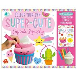 Colour Your Own Super-Cute squishy Cupcake, Paperback Book, By: Make Believe Ideas