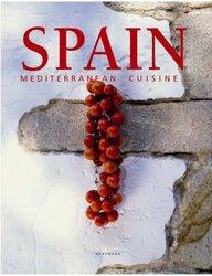 Mediterranean Cuisine Spain, Hardcover, By: H F Ullmann